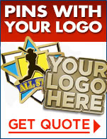 Pins with your logo