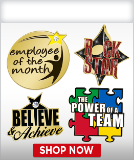 Recognition Pins
