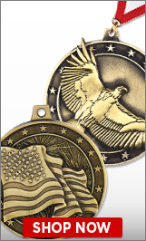 4th of July Medals
