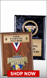 Raingutter Regatta® Plaques