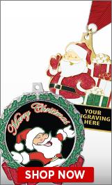 Santa Claus Medals