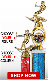 Water Skiing Column Trophies