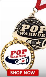 Pop Warner Cheer Medals