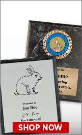 Rabbit Plaques