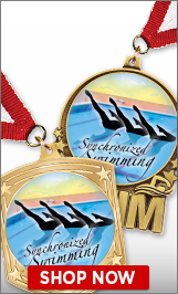 Synchronized Swimming Medals