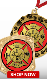 Fire Engine Medals