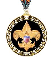 Laurel Wreath Boy Scout™ Insert Medal