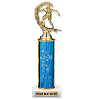 U-Sports Classic Blue Column Trophies
