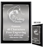 Floating Acrylic Plaques