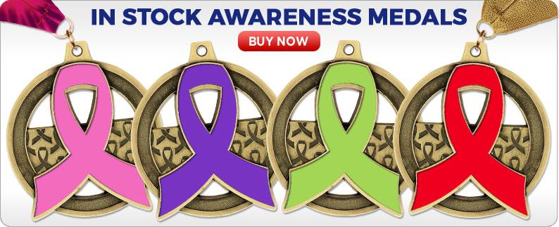 Custom Awareness Medals