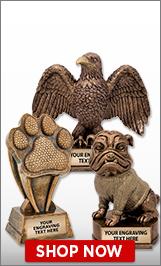 Mascots Sculptures