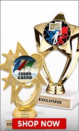 Color Guard Trophies