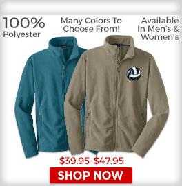 Fleece Zip Jackets