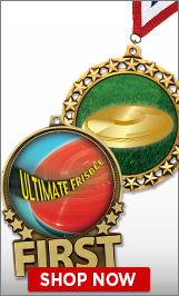Ultimate Frisbee Medals