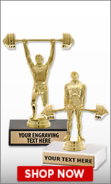 Powerlifting Trophies