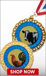 Farm AnimalsMedals