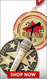 Karaoke Medals