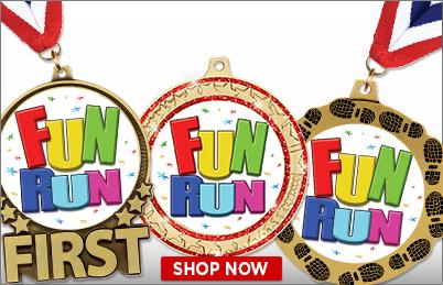 Fun Run Medals