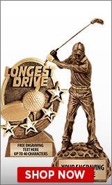 Golf Sculptures