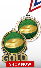 Flying Disc Medals