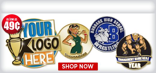 Custom  Wrestling Pins