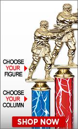 Paintball Column Trophies