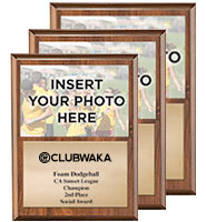 Photo Plaque Wood
