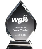"""6"""" WGI Majestice Gem Award"""