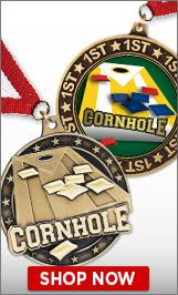 Cornhole Medals