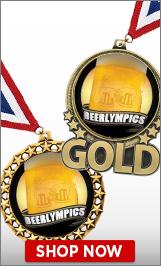 Beerlympics Medals