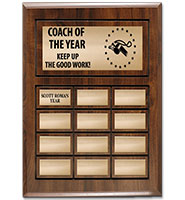 Cherry Wood Perpetual Plaques
