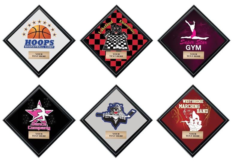 Custom Diamond Plaques