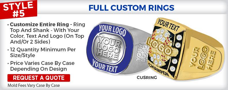 Full Custom Rings