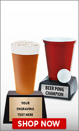 Beer Pong Sculptures