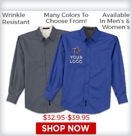 Long Sleeve Woven Shirts