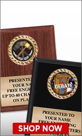 Debate Plaques
