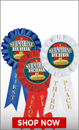 Submarine Derby Ribbons