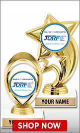 Juvenile Diabetes Trophies
