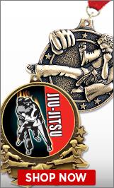 Jui-Jitsu Medals