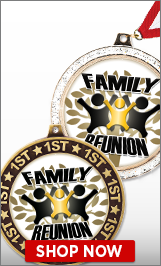 Family Reunion Medals