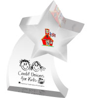 Star With Tail Acrylic Embedments