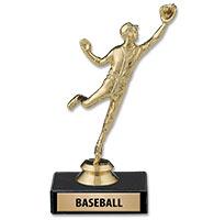 U-Sports Trophy on Black Marble