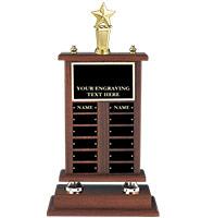 Walnut Perpetual Trophy