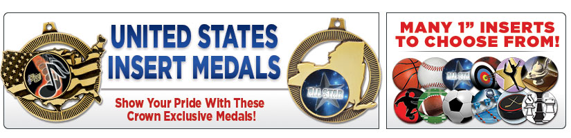 "2"" United States Insert Medals"