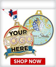 Custom Rhinestone Medals