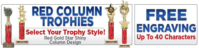 Red Column Trophies