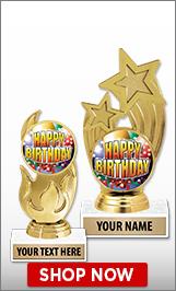 Birthday Trophies