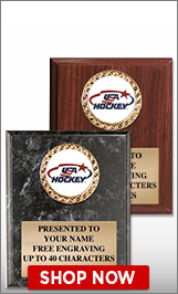 USA Hockey Plaques
