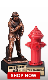 Firefighter Sculptures
