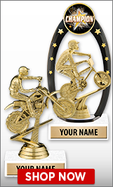 Dirt Bike Trophies